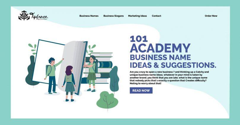 Academy Name ideas