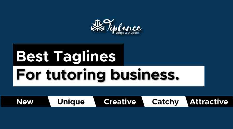 Best taglines for tutoring business.