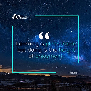 Novalis_ Learning Quote