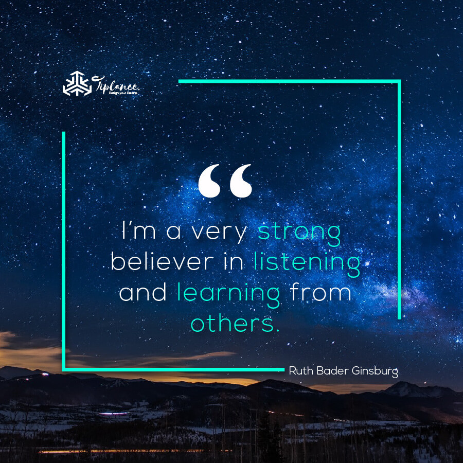 Ruth Bader Ginsburg_ Learning Quote