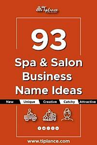 Creative Spa name ideas