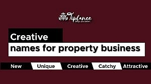 Creative names for property business