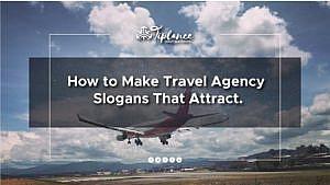 Travel agency Slogan ideas