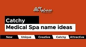 Medical spa name
