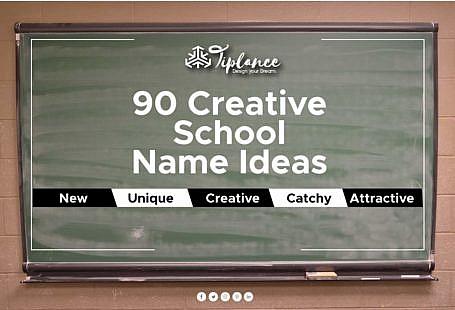 School name ideas suggestion list
