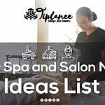 Spa Name Ideas List
