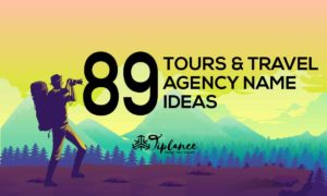 Tour and Travel Agency Name Ideas