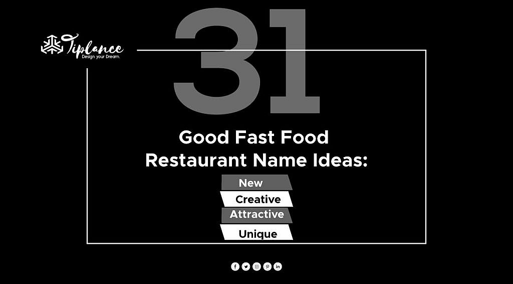 Good Fast Food Restaurant Name Ideas