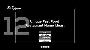 Unique Fast Food Restaurant Name List