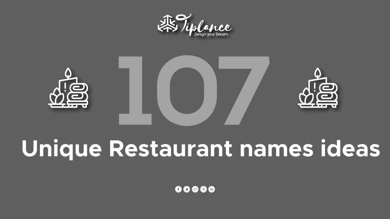 Good Restaurant names - Tiplance
