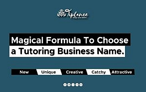 Creative Tutoring Business name