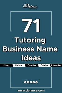 Tutoring Business Name Ideas