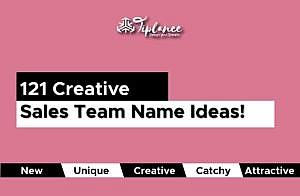 Sales Team Names