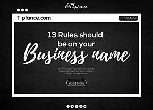 Create a Company name