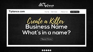 Create a business name