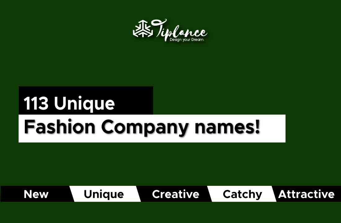 Fashion company names