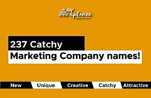 Marketing company names