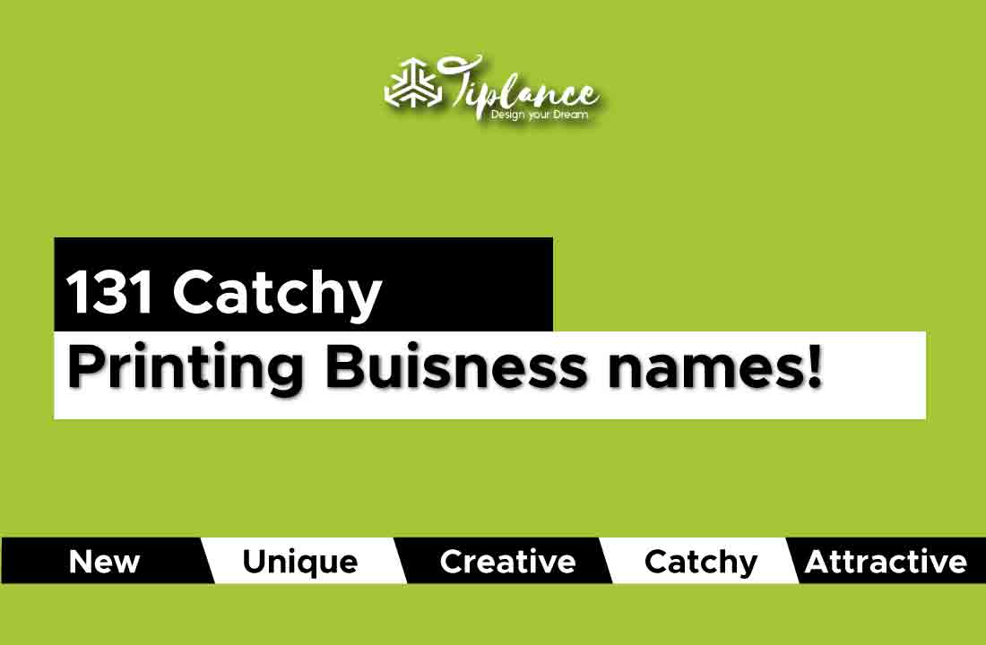 Printing business name ideas