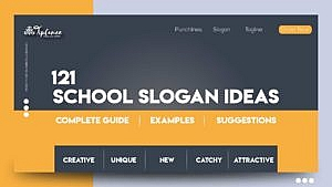 School slogan ideas