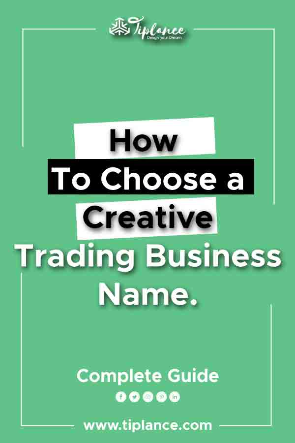 Trading company name ideas