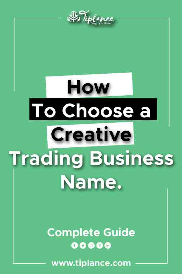 Trading company name ideas
