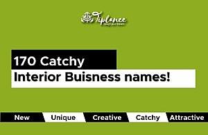 interior design company name