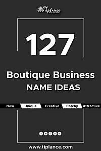 Boutique name ideas