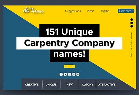 Carpentry company name