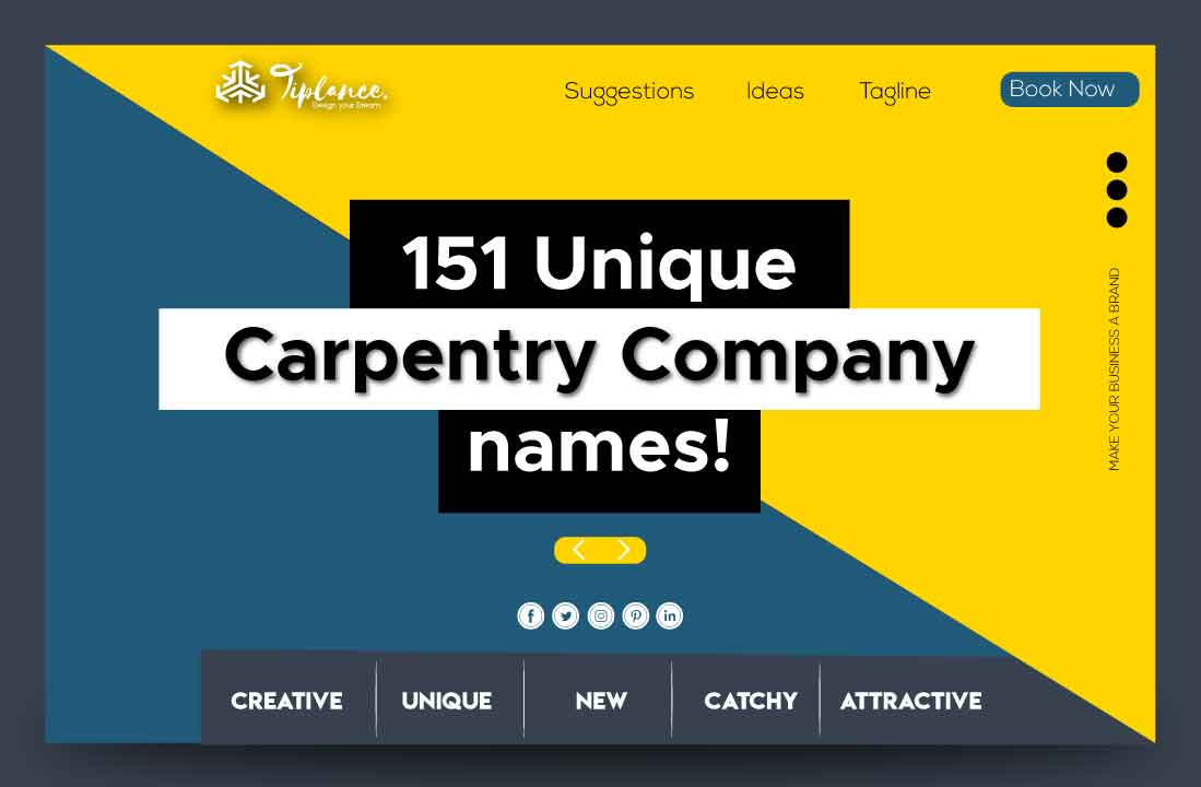 Carpentry company name