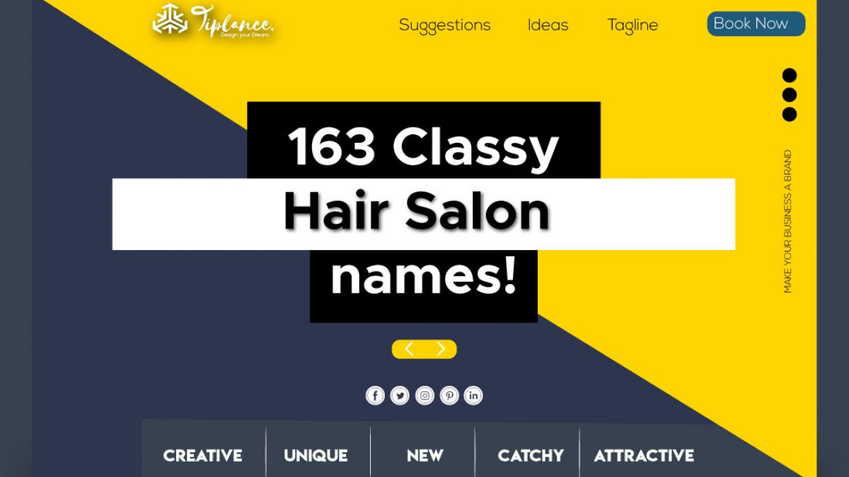 20 Creative Hair Salon Name Ideas to Start New Business.  Tiplance