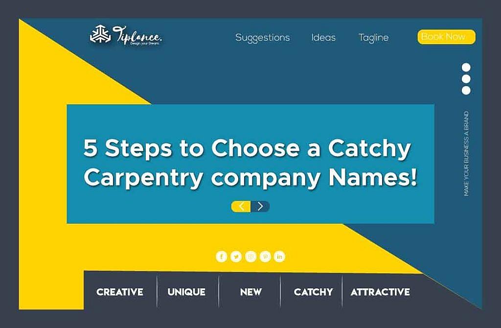 Create Carpentry name ideas