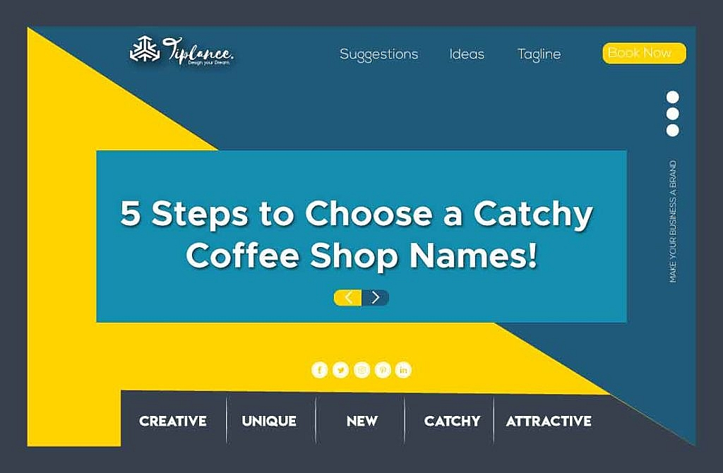 Create Coffee Shop Names