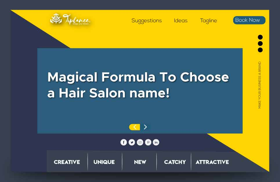 Create Hair Salon names