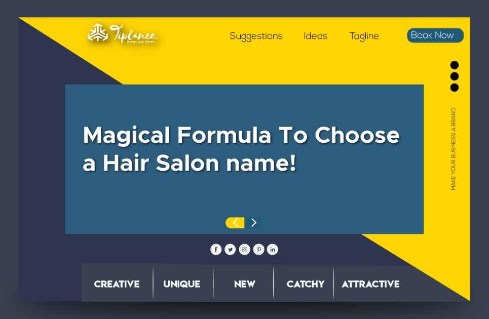 Create Hair Salon names