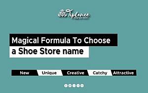 Create Shoe Store names