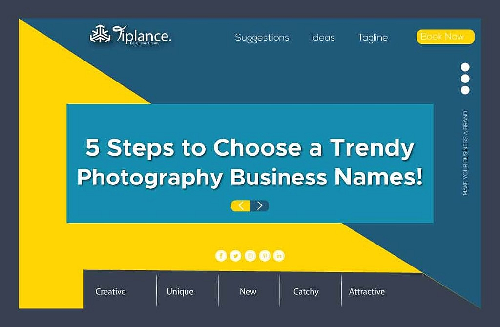 Create photography business name
