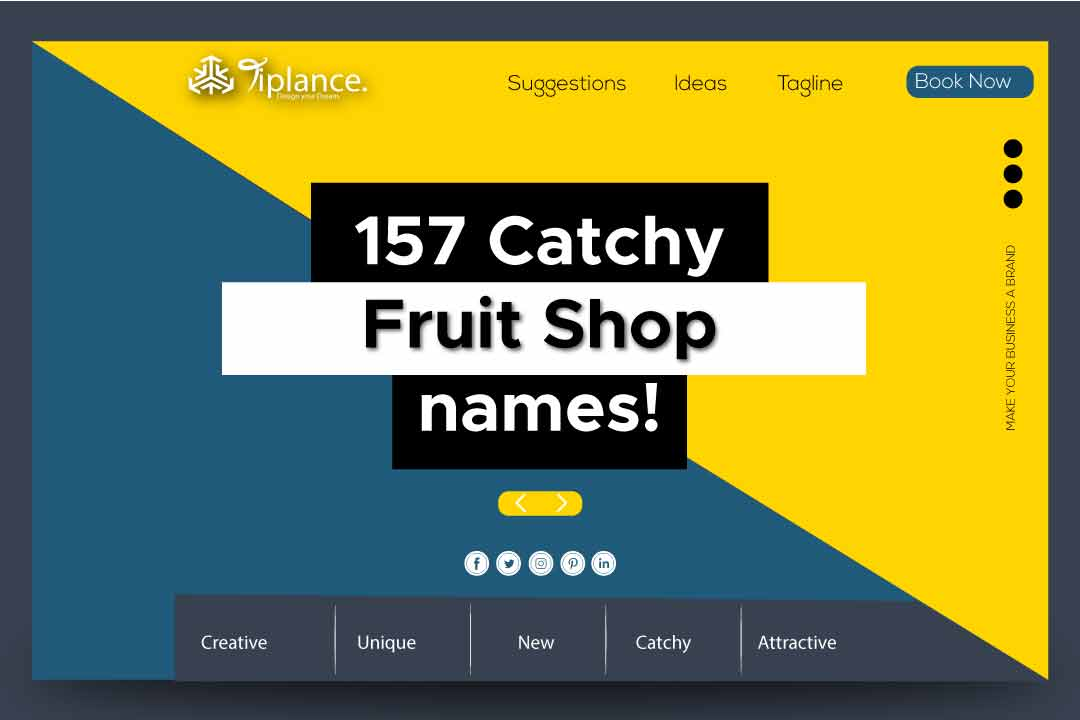 Fruit Business names