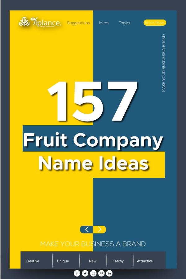 Fruit Company Name ideas