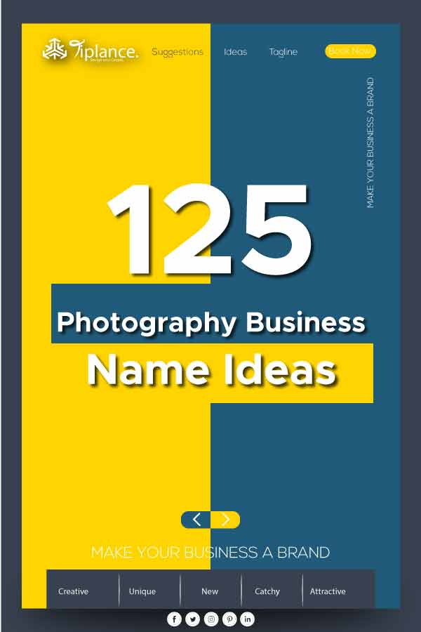 Photography studio name ideas