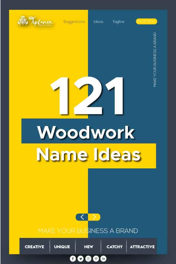 woodwork company name ideas