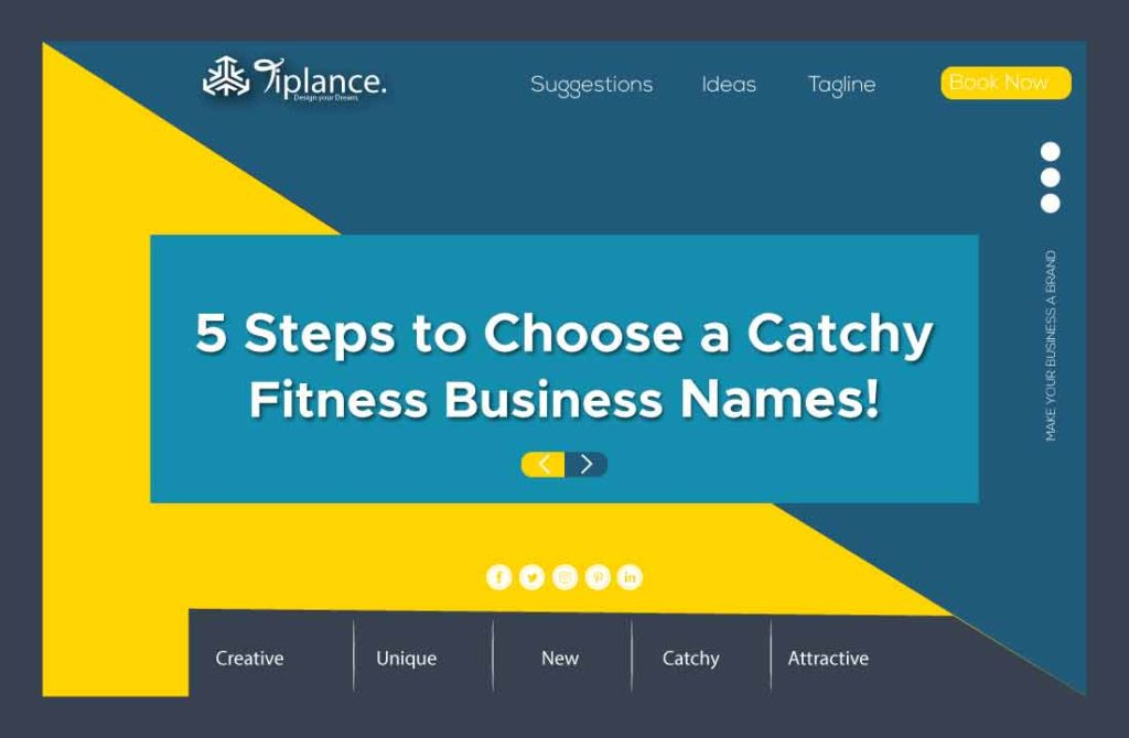 Catchy fitness name ideas