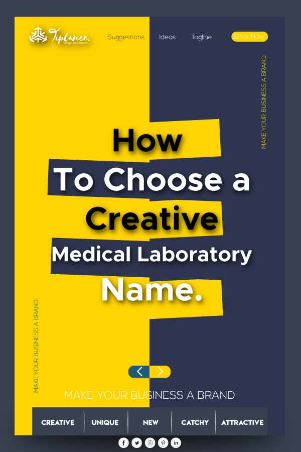 Creative Medical Laboratory name ideas