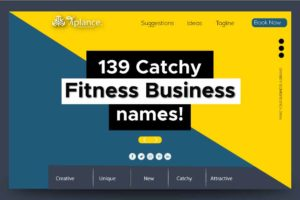 Fitness business names