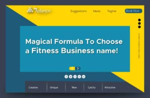 Secret to choose a fitness name
