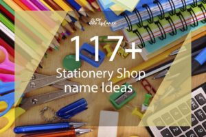 Stationery Shop Name ideas