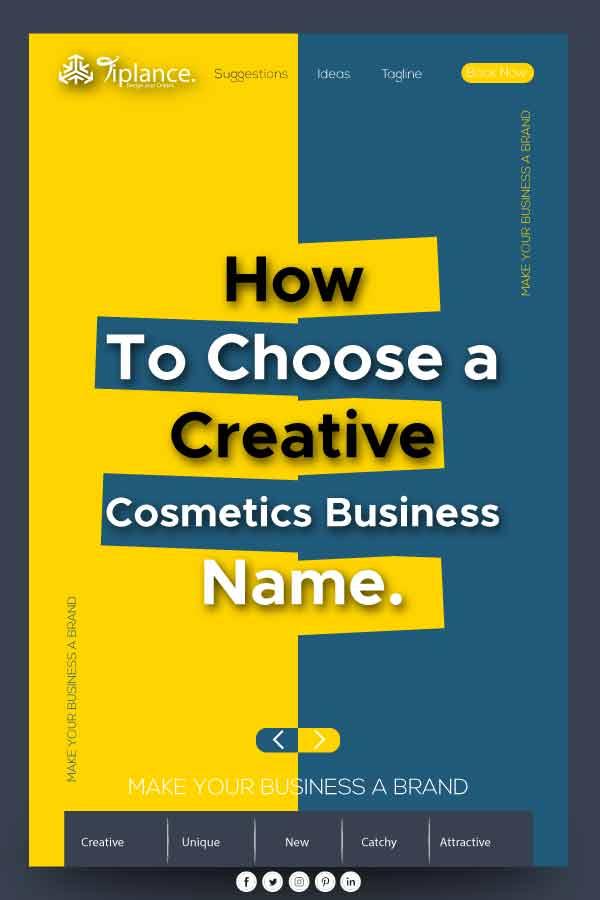 Cosmetics Business Name Ideas