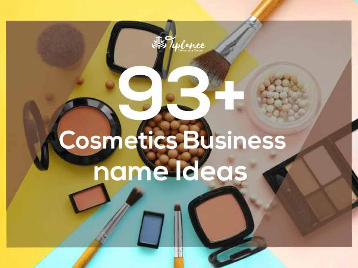 Cosmetics Business Name Ideas