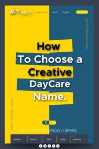 Daycare name ideas