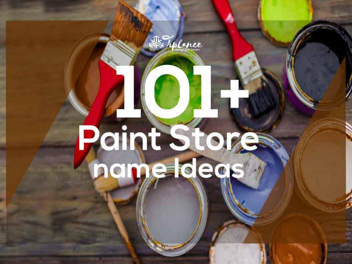 Creative Paint Name Ideas