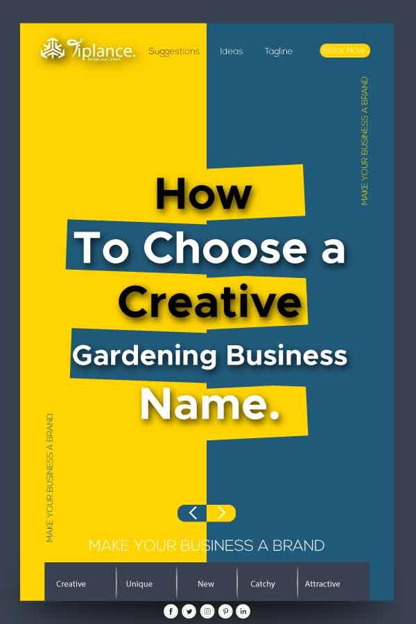 Gardening Business name ideas